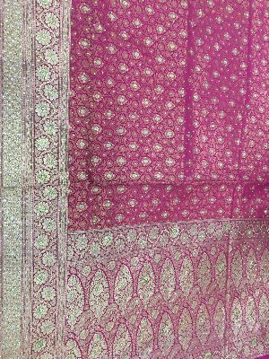 Georgette Embroidered Sarees 14