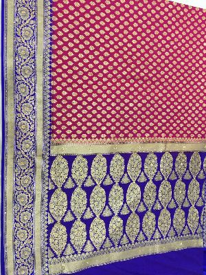 Georgette Embroidered Sarees 16