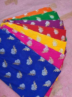 Georgette Plain Fabric 17