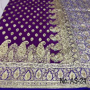 Nylon Ambrose Embroidered Sarees 02