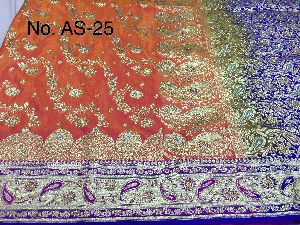 Nylon Ambrose Embroidered Sarees 03
