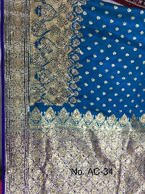 Nylon Ambrose Embroidered Sarees 06