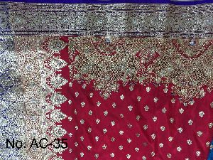 Nylon Ambrose Embroidered Sarees 07