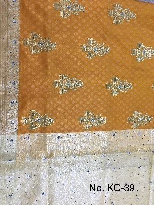 Nylon Kaju Buti Embroidered Sarees 14