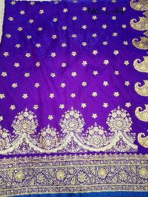 Nylon Lacha Embroidered Sarees 03