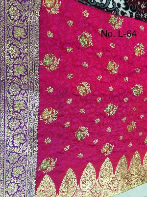 Nylon Lacha Embroidered Sarees 17