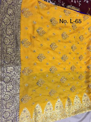 Nylon Lacha Embroidered Sarees 18