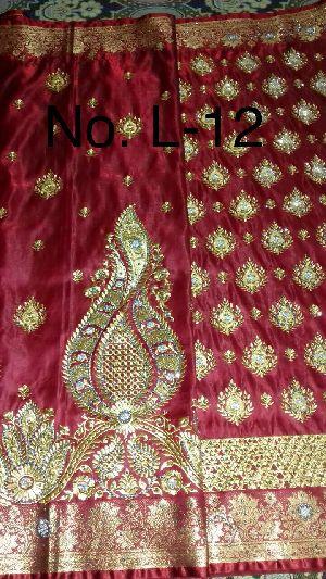 Nylon Lacha Embroidered Sarees 25