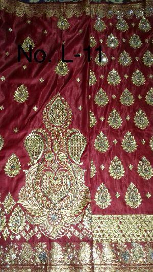 Nylon Lacha Embroidered Sarees 26