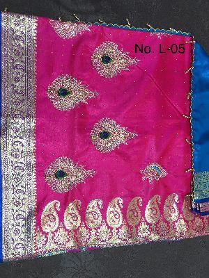 Nylon Lacha Embroidered Sarees 28