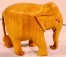 Elephant Carving Wood