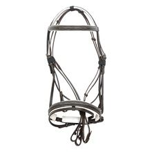 English leather horse bridle bonfire comfort bridle