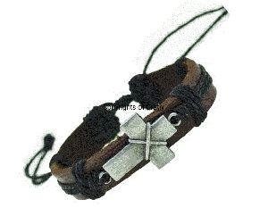 Leather Black Hand Bands