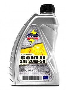 Gold II SAE 20W-50 Engine oil
