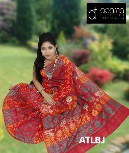 Cotton Jamdani Saree