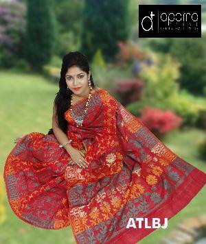Cotton Jamdani Saree 01