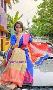 Cotton Silk Mahapar Saree