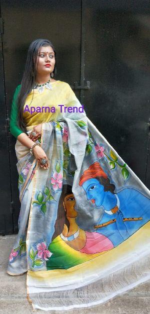 Cotton Silk Print Saree 02