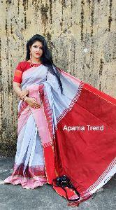Cotton Silk Temple Saree