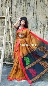 Cotton Silk Tree Saree