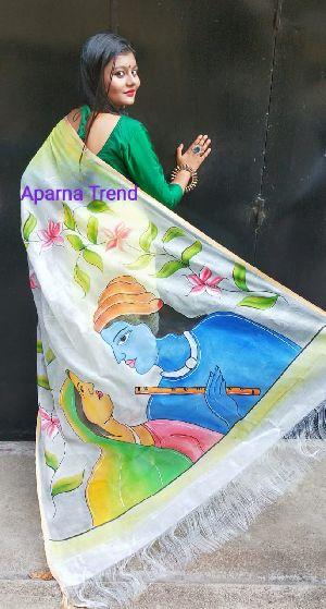 Kerala Cotton Print Saree 02