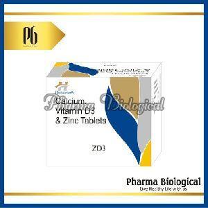 Calcium, Vitamin D3 & Zinc Tablet