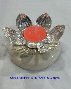 Decorative Items Manufacturer Silver Pooja Thali Set Exporter