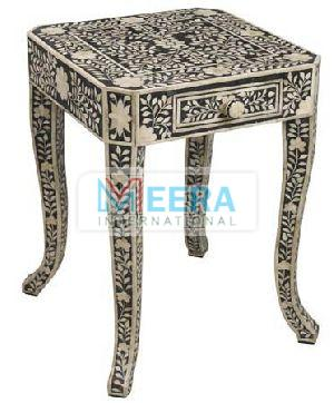 MB122 Bone Inlay Console Table