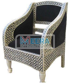 MB215 Bone Inlay Chair