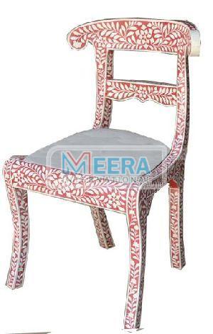 MB218 Bone Inlay Chair