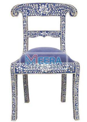 MB219 Bone Inlay Chair