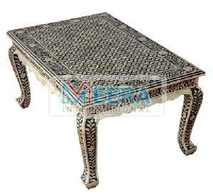 MB221 Bone Inlay Coffee Table