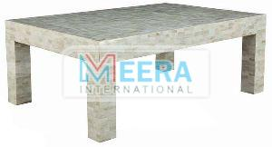 MB223 Bone Inlay Coffee Table