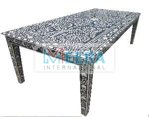 MB224 Bone Inlay Coffee Table