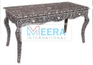 MB227 Bone Inlay Console Table