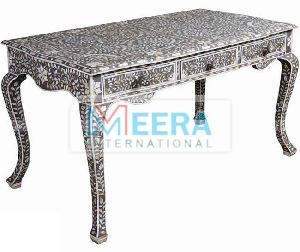 MB230 Bone Inlay Console Table