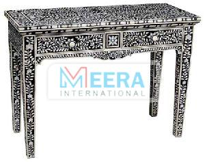 MB231 Bone Inlay Console Table