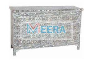 MB240 Bone Inlay Drawer Cupboard