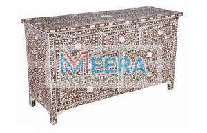 MB243 Bone Inlay Drawer Cupboard
