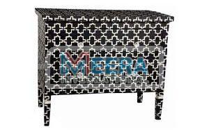 MB244 Bone Inlay Drawer Cupboard
