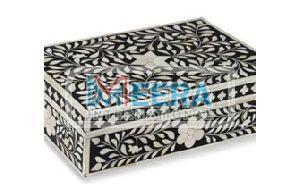 MB271 Bone Inlay Jewellery Box