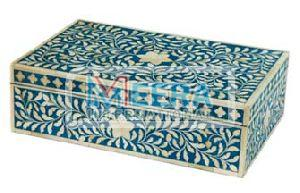 MB273 Bone Inlay Jewellery Box