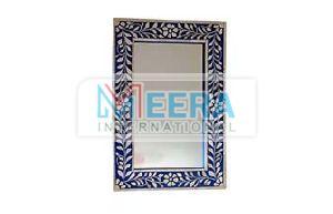 MB274 Bone Inlay Mirror Frame