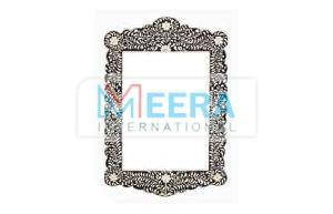 MB277 Bone Inlay Mirror Frame