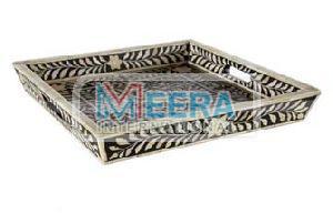 MB292 Bone Inlay Tray