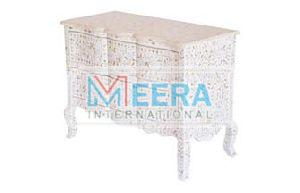 MB406 Mother of Pearl Drawer Cupboard