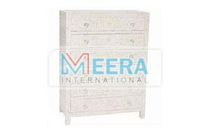 MB409 Mother of Pearl Drawer Cupboard