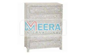 MB410 Mother of Pearl Drawer Cupboard