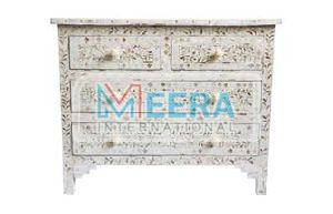 MB412 Mother of Pearl Drawer Cupboard
