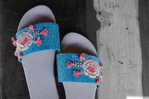 Ladies Embroidered Footwear 02